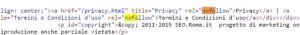 rel nofollow html