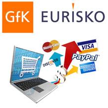 Gli italiani iniziano a usare più gli e-commerce, indagine Gfk Eurisko