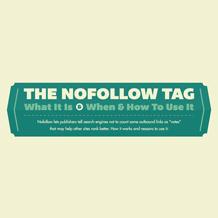 Infografica: come e perché utilizzare il 'nofollow'