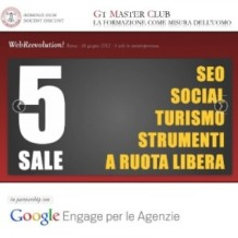 Incontro formativo su SEO e Web Marketing a Roma: WebReevolution!